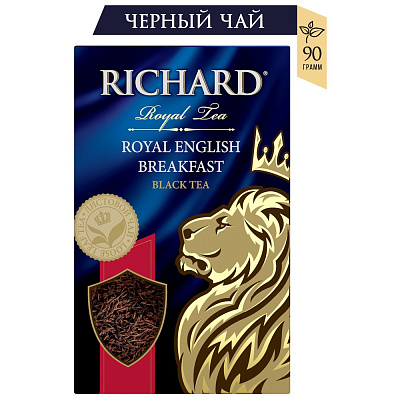 Ричард Чай черный крупнолистовой Royal English Breakfast Richard