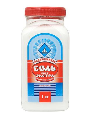 Соль Руси Соль пищевая йодированная экстра Соль Руси