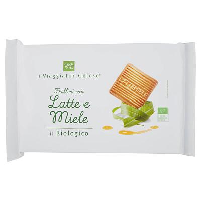 Без бренда Печенье песочное с медом и молоком Il Viaggiator Goloso