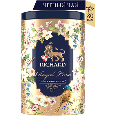 Richard Чай черный Royal Love 80гRichard