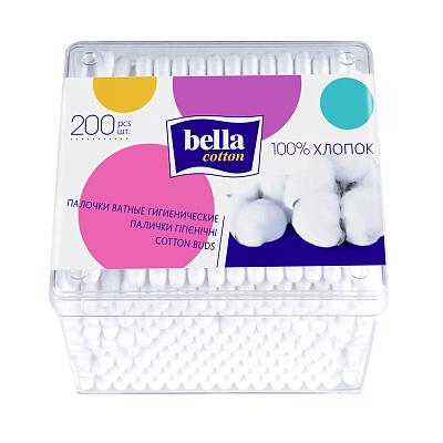 БЕЗ БРЭНДА Палочки ватные 200 шт Bella cotton
