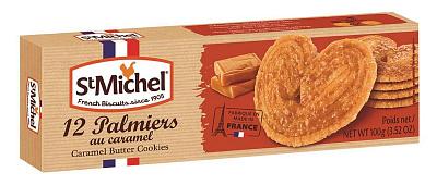Фото - БЕЗ БРЭНДА Печенье сливочное карамельное Палмьерс StMichel без брэнда печенье сэндвич хит лесной орех bahlsen