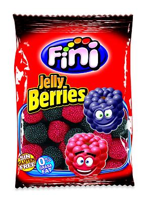фини мармелад жевательный банан fini Фини Мармелад жевательный Красные и черные ягоды в обсыпке Fini