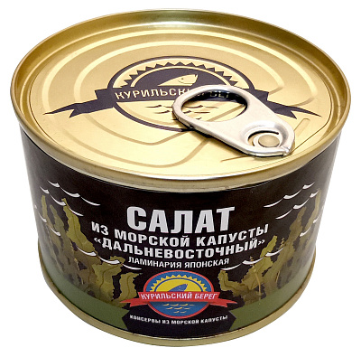 Без бренда Салат Дальневосточный из морской капусты Курильский берег недорого