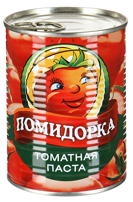 Помидорка Паста томатная Помидорка 0.38 кг.