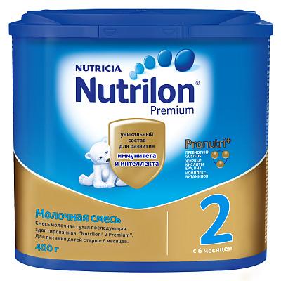 Нутрилон Молочная смесь PronutriPlus 6-12 мес Премиум Нутрилон