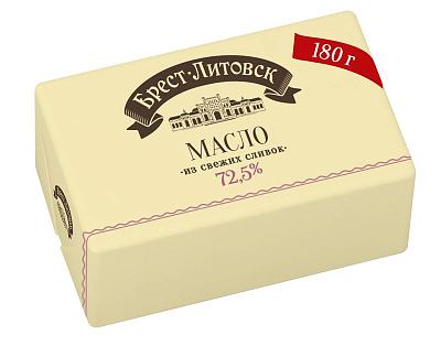 Брест Литовск БЗМЖ Масло сладко-сливочное несолёное 72.5% Брест-Литовск