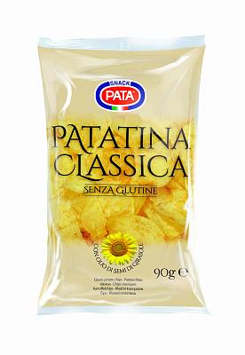 Фото - PATA Чипсы картофельные классические 90г PATA лоренц чипсы картофельные naturals классические с солью lorenz