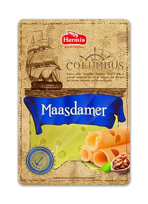 Фото - БЕЗ БРЭНДА БЗМЖ Сыр Маасдамер 45% нарезка Columbus без брэнда бзмж сыр твердый пармезан 40% laime