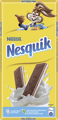 шоколад алёнка молочный порционный с молочной начинкой 100 г Несквик Шоколад молочный с молочной начинкой Несквик