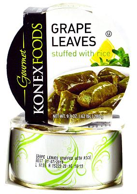 Фото - БЕЗ БРЭНДА Долма фаршированная рисом Konex Foods без брэнда айвар сладкий konex foods
