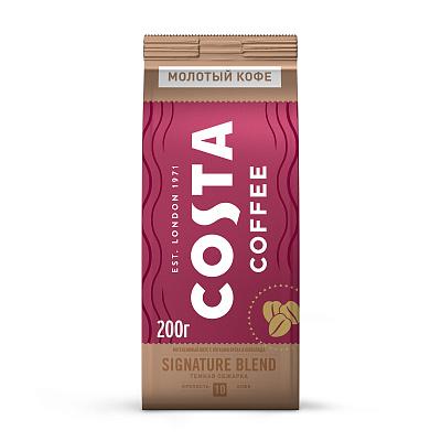 coffee 1889 premium blend 1 kg Costa Coffee Натуральный жареный кофе в зернах Signature blend средняя обжарка 200г Costa Coffe
