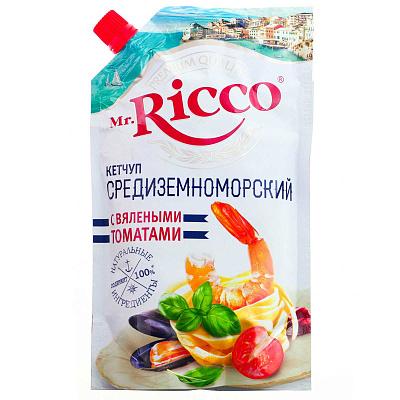 Mr. Ricco Кетчуп Средиземноморский с вялеными томатами 550г Mr. Ricco недорого