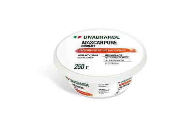 Фото - Унагранде БЗМЖ Сыр Маскарпоне 250г Ungrande сыр мягкий vitalat маскарпоне 250 г