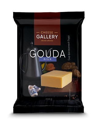 cheese people Cheese Gallery БЗМЖ Сыр ГАУДА 45% 200г Cheese Gallery